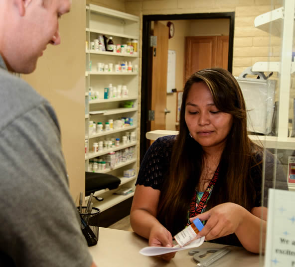 Discount Pharmacy services are available at Lake Powell Medical Center